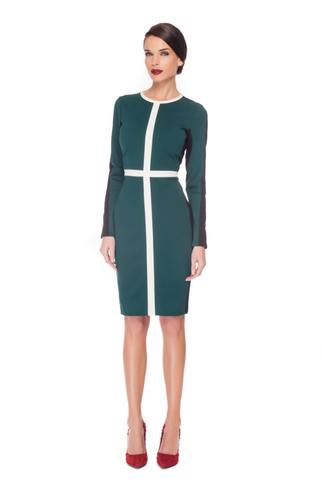 COLOR BLOCK IVETTE DRESS