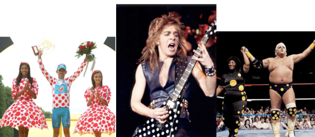 (L-R) Anthony Charteau- King of the Mountains, Randy Rhoads- Guitarist, Dusty Rhoads - WWF